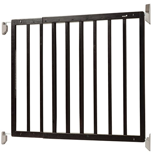 Safety 1st Top of Stairs Frameless Décor Swing Gate, Fits Space between 27'' and 42'' by Safety 1st