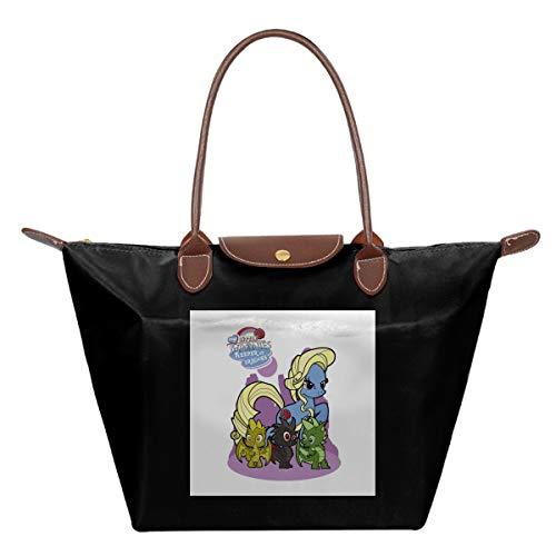 My Little Thronies Pony Game Of Thrones Waterproof Leather Folded Messenger Nylon Bag Travel Tote Hopping Folding School Handbags