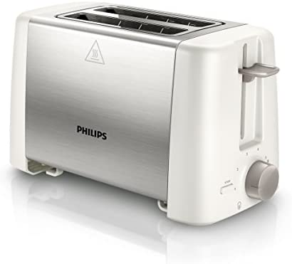 Philips Daily Collection HD4825/00 Tostador metálico, 800 W
