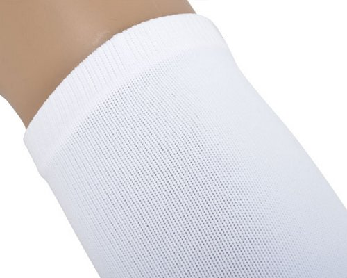 CLOVER Outdoor Sports Cycling Sun Protection Cooling Arm Sleeves 2 Pcs -White