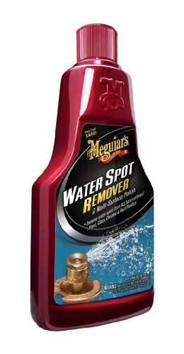 Hard Water Spot Remover - Meguiar's A3714 Compound Water Spot Remover - 16 oz.
