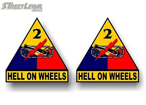 Amazon.com: 2 Infierno sobre ruedas 2 nd Armored División 10 ...