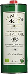 Frankies 457 Spuntino Extra Virgin Olive Oil - 1 liter