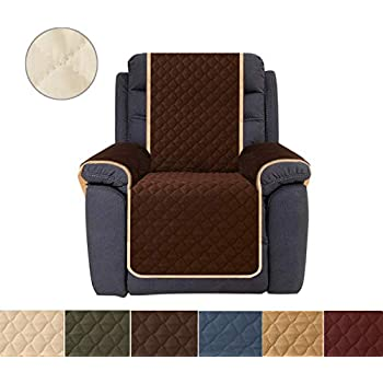Amazon Com Ameritex Sofa Cover Reversible Quilted