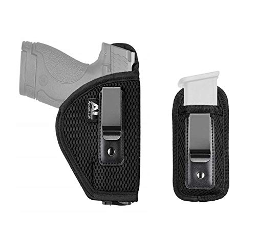 Apical Life Concealed Carry Holster Carry Inside The Waistband | Fits Subcompact to Large Handguns | Right Hand Draw for Glock 17 to 39; Springfield XD/XDS/XDM (Right Hand)