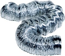 (Hart & Cooley Uninsulated Foil Flexible Duct 44784)