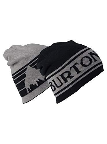 Burton Unisex Billboard Beanie, True Black/Iron Gray, One Size