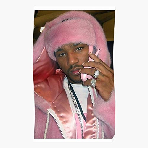 Pink Cam Ron Poster, Gift For Home Decor Wall Art Print Poster