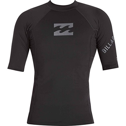 빌라봉 Billabong Mens Team Wave Regualr Fit Short Sleeve Rashguard
