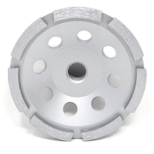 Lackmond SPPGC4SN 4-Inch Single Row Diamond Segmented Grinding Cup Wheel with 5/8