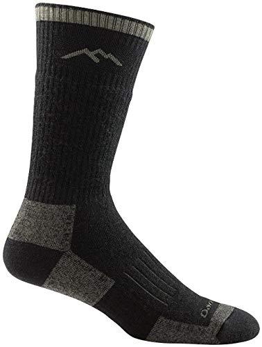 Darn Tough Vermont Men's Hunter Boot Cushion Socks, Charcoal, 2XL