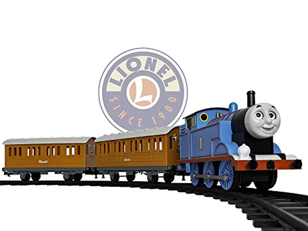 [라이오넬 폴라 익스프레스 열차 기차 트랙 장난감] Lionel Thomas & Friends Battery-powered Model Train Set Ready to Play w/ Remote