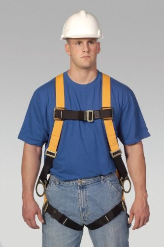 Miller Titan by Honeywell T4007/UAK Non-Stretch Harness with Side D-Ring, Universal