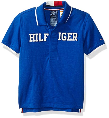 Tommy Hilfiger Boys' Polo Shirt with Magnetic Buttons, surf the web head -