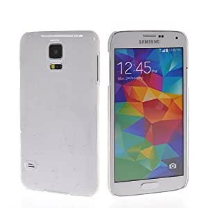 HKCFCASE Raindrop Funda Carcasa Tapa Caso Plástico Duro Case Para Samsung Galaxy S5 I9600 Claro