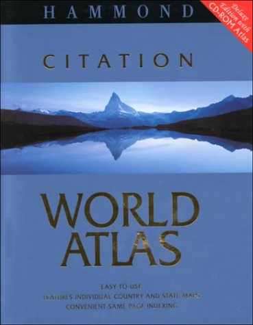 Hammond Citation World Atlas: Deluxe Edition