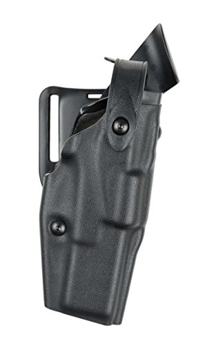 Safariland 6360 ALS/SLS Level-III Retention, Mid-Ride Duty Holster, Glock 17, 22, 31, STX Tactical Black, Right (Als Tactical Holster)