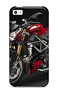 LJF phone case Fashionable AcnpvQe3213DzLnD Iphone 5c Case Cover For Ducati Streetfighter Protective Case