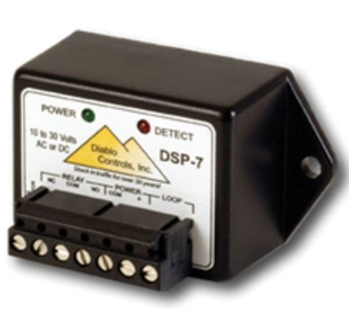 Diablo Controls DSP-7 Microdetector Vehicle Loop Exit Safety Sensor Detector
