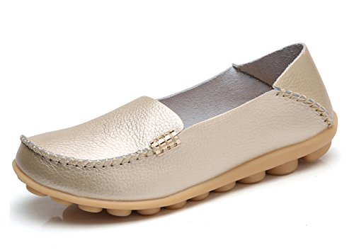 VenusCelia Women's Natural Comfort Walking Flat Loafer