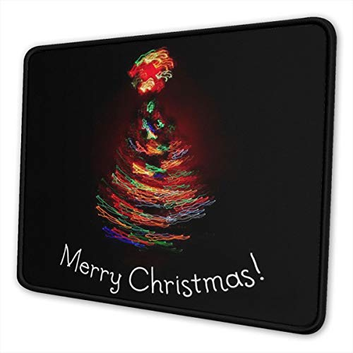Washable Mouse Pad - Merry Christmas 2017 Colorful