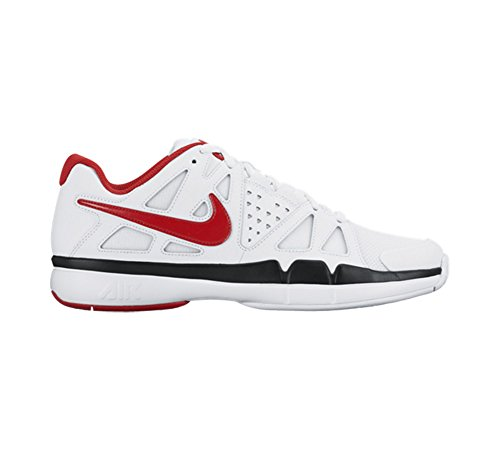Nike Air Vapor Advantage, Zapatillas de Tenis para Hombre Blanco (white/university red-black)