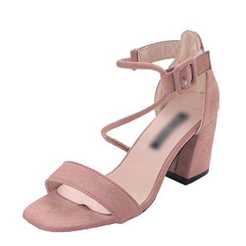 Zapatos Elegant Mujer De Verano Sentaoa Durable Sandalias Modelando v8nmNw0