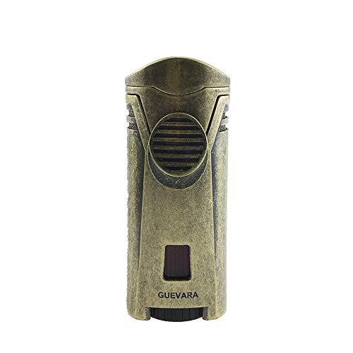Guevara Cigar Gift Set Gift Box Ashtray(1) + Cutter(1) + Lighter(1) (Gold) by Guevara (Image #3)