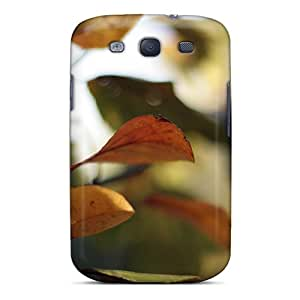 Premium Protection Autumn Free Colours Of Change Case Cover For Galaxy S3- Retail Packaging