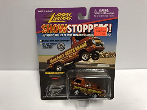 (Chuck Poole's CHUCKWAGON Johnny Lightning Showstoppers! diecast with real wheels series tires )