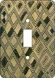 Kuba Cloth Switch Plate (Afric