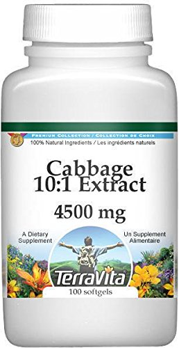 Extra Strength Cabbage Extract 4:1 Extract - 4500 mg