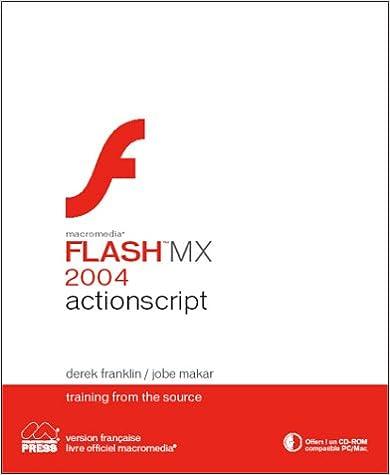 Livre gratuits Flash MX 2004 actionscript (CD-Rom) pdf, epub