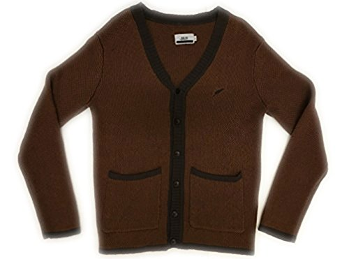 PUBLISH BRAND ADRAKE CARDIGAN SWEATER (Small, Brown) by Publish