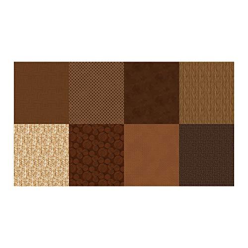 Hoffman Fabrics Digital Details Blender 72'' Panel Brownie