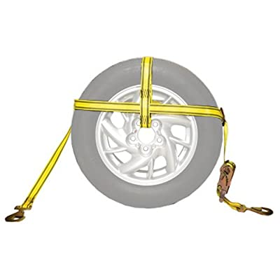 """PROGRIP 18900 Vehicle Transport Adjustable Tire Bonnet with Ratchet and Hooks: Fits Tire up to 33"""" x 12 1/2"""": Automotive"""