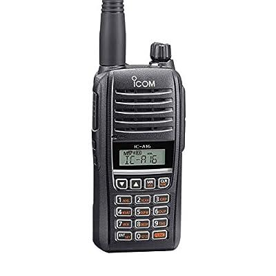 Image of Aviation Handheld Radios Icom IC-A16B (Bluetooth) VHF Air Band Handheld Transceiver Radio
