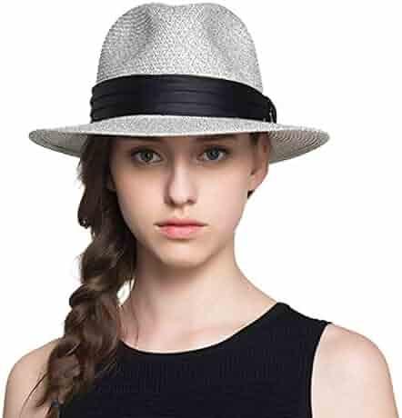e42e8797 Straw Hats for Women Or Men Summer Vintage Wide Brim Jazz Panama Hat Chapeu  Feminino Sun