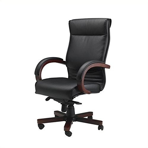 - MLNCSMAH - Tiffany Corsica High-back Leather Chairs