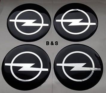 Opel Pegatinas para buje Tapa en aluminio Llantas y Tapacubos 60 mm: Amazon.es: Coche y moto