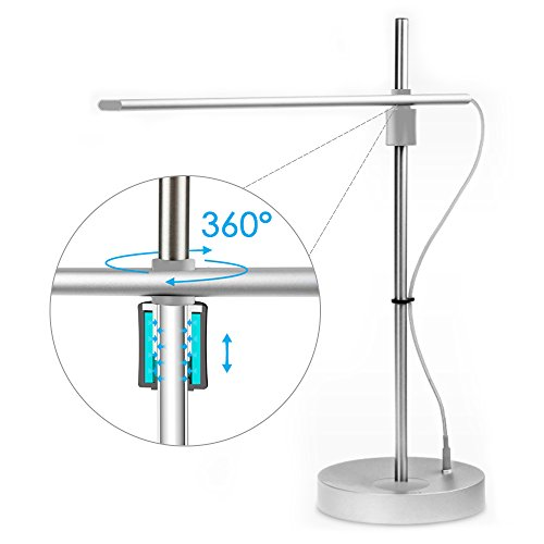 Kinbashi LED Desk Lamp Rotating 360 Degrees