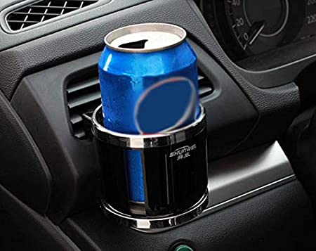 Benlasen Car Cup Holder Adjustable Car Air Vent Cup Mount Universal Smart Drink Clip-on Holder Soft Drink Water Coffee Bottle Stand with Simple and Stylish