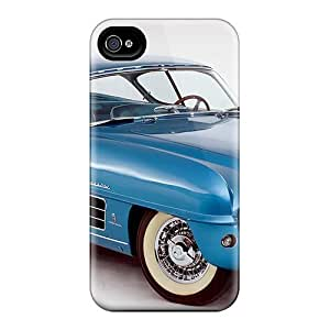 Defender Case For Iphone 4/4s, 1954 Dodge Firearrow Concept Pattern