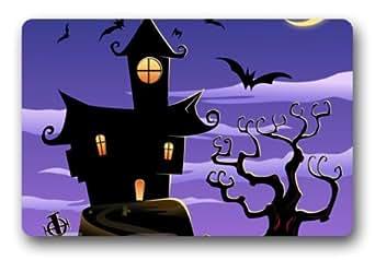 Fabulous Store Custom Halloween noche Tejido machine-wahable non-woven Felpudo para interiores/al aire libre