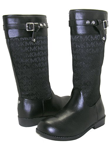 MICHAEL Michael Kors Little Kids/Big Kids RANEE-DD Black Boots - Children's Michael Boots Kors