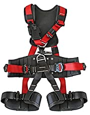 Fall Protection Harness, Industrial Fall Protection Safety Harness, Full Body Personal Protective Equipment, Construction Harness With Adjustable Belt,Fall Protection Harness