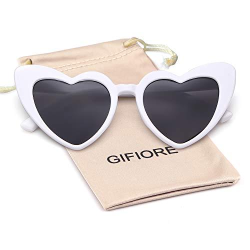 Clout Goggle Heart Sunglasses Vintage Cat Eye Mod Style Retro Kurt Cobain Glasses