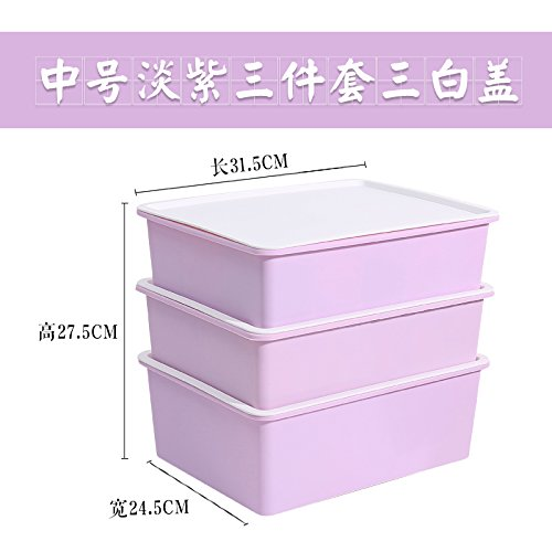 U-emember Bra Admit Cartridge Plastic Covered Bra Underwear Socks Storage Drawer Innerwear Organize Case Three-Piece Home