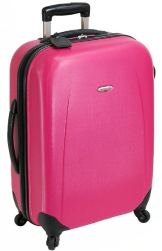 19 Inch Small Hard Shell 4 Wheel Spinner Suitcase ABS Luggage ...