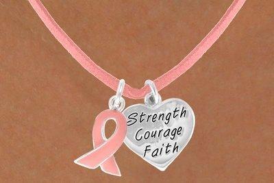 Pink Awareness Ribbon &